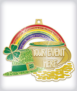 Glitter Custom Community Event Medals