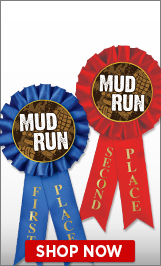Mud Run Ribbons