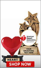 American Heart Association Sculptures
