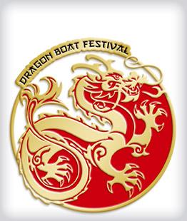 Custom Soft Enamel Dragon Boat Pins