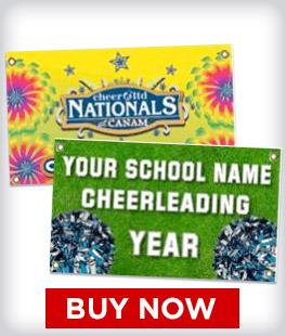 Custom Cheer Banners