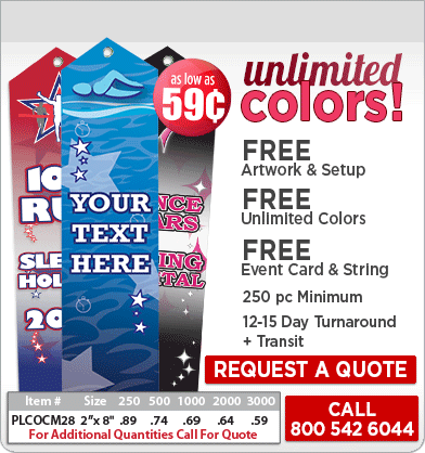 Color Splash Ribbons