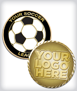 Custom Soccer Coins