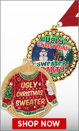 Ugly Sweater Medals