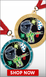 Paintball Medals