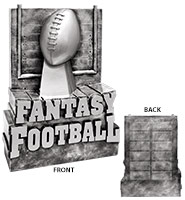 Superior Fantasy Football Sculpture