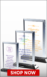 Appreciation Acrylic Awards