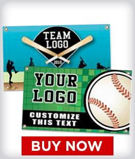 Custom Baseball Banners