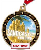 Sandcastle Building Medals