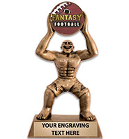 Monster Fantasy Football Insert Sculpture