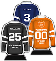 Acrylic Hockey Jersey Trophy
