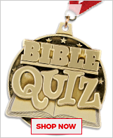 Bible Quizzing Medals
