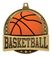 """2 1/4"""" FX Basketball Medals"""