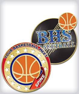Custom Specialty Basketball Pins