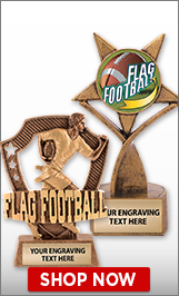 Flag Football Sculptures