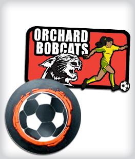 Custom Rubber Soccer Pins