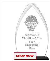 Netball Acrylic Awards