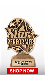 Star Performer Kudos Sculpture