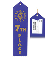 7th Place Award Ribbon
