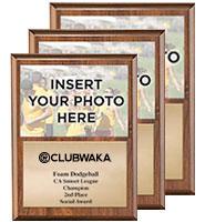 Photo Plaque Wood