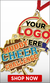 Mud Run Custom Medals
