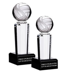 Onyx Pedestal Volleyball Awards