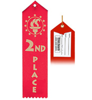 2nd Place Award Ribbon