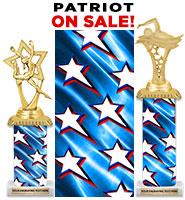 Patriot Deluxe With Cap Column Trophies