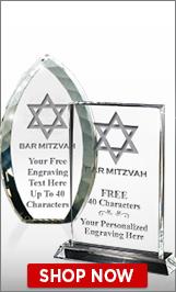 Bar Mitzvah Crystals