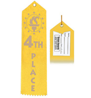 4th Place Award Ribbon