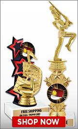 Drill Team Majorette Trophies