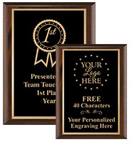 Classic Etched Wood Plaques