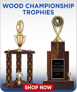 Wood Championship Trophies