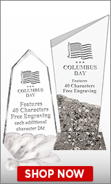 Columbus Day Crystals