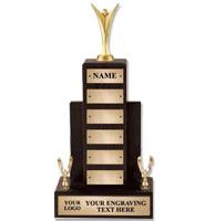U-Sports Walnut Perpetual Trophies