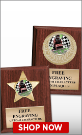 Lawn Mower Racing Plaques