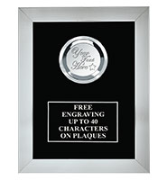 Sterling Framed Plaque