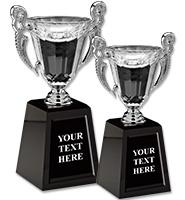 Silver Venetian Crystal Cups