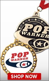 Pop Warner Football Medals