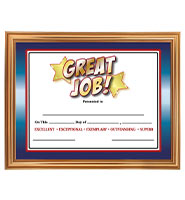 Gold Certificate Frame Holder
