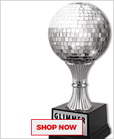 Belly Dancing Glimmer Ball Trophies
