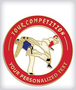 Custom Soft Enamel Martial Arts Pins