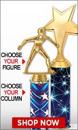 Handball Column Trophies