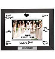 Horizontal Signature Frame Plaque