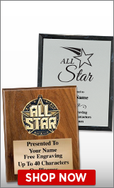 All Star Plaques