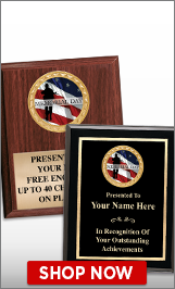 Memorial Day Plaques