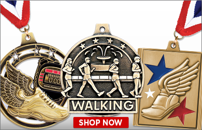 Walking Medals
