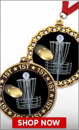 Disc Golf Medals