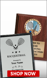 Raquetball Plaques