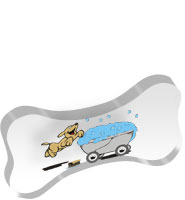 Dog Bone Acrylic Embedment